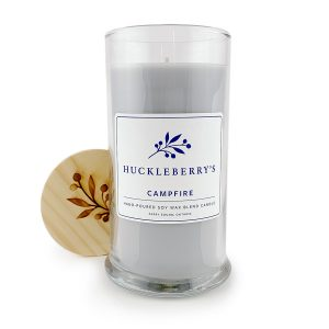 Image showing campfire scented candle