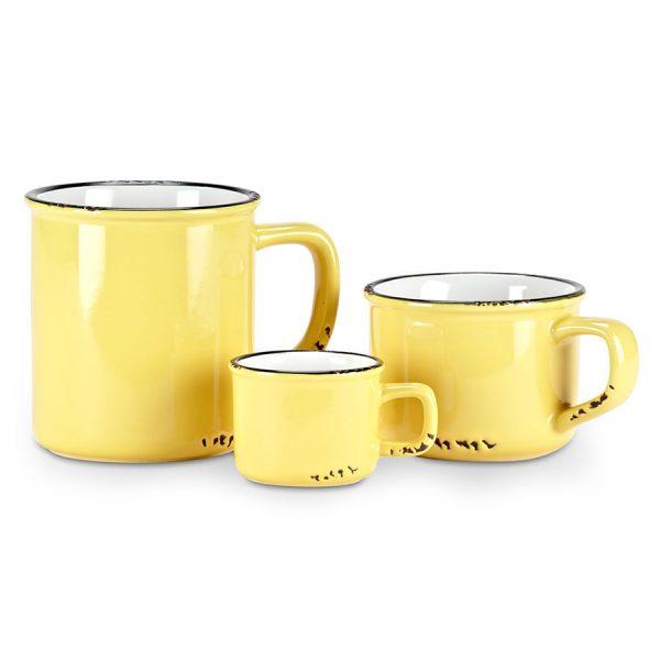 Yellow Stoneware
