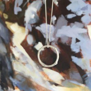 Infinity Twig Necklace